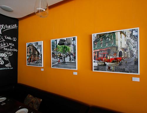 "Expo Individual ""Desencontros Urbanos"" no 00 Bistrô"
