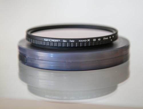Teste na prática com o filtro K&F Concept ND2-ND32