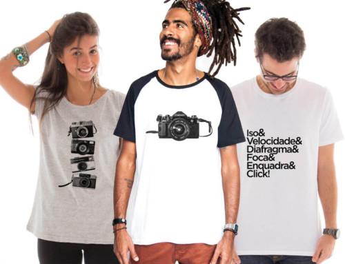 Coleção de camisetas TOUTS x Por Trás da Foto!
