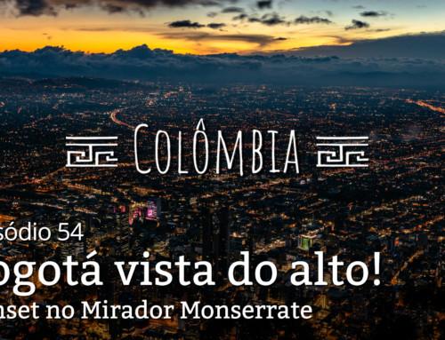 Colombia, ep1: Fim de tarde em Bogotá
