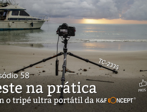 Teste na prática: Tripé K&F Concept TC-2335